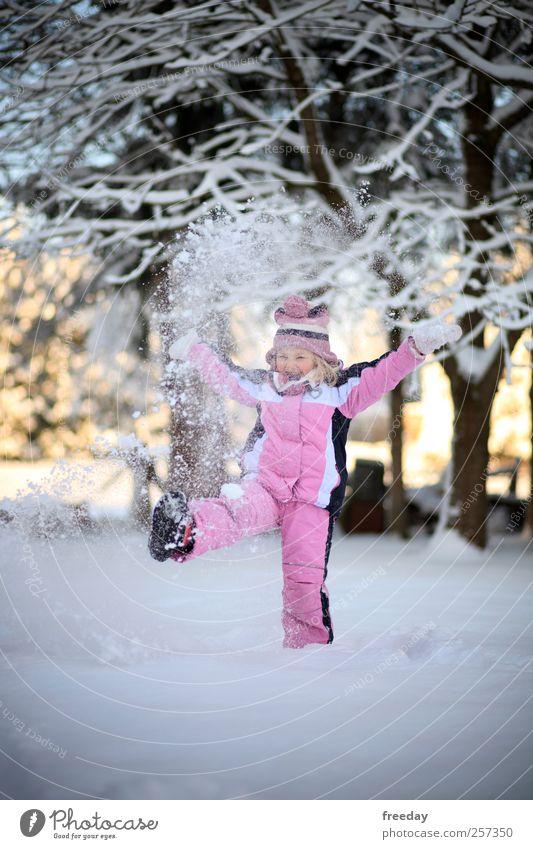 Child Nature Vacation & Travel Hand Tree Girl Joy Winter Life Snow Playing Freedom Healthy Garden Feet Ice