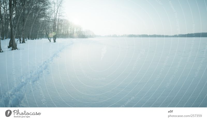 Blue Sun Winter Cold Snow Environment Lake Weather Natural Beautiful weather Lakeside