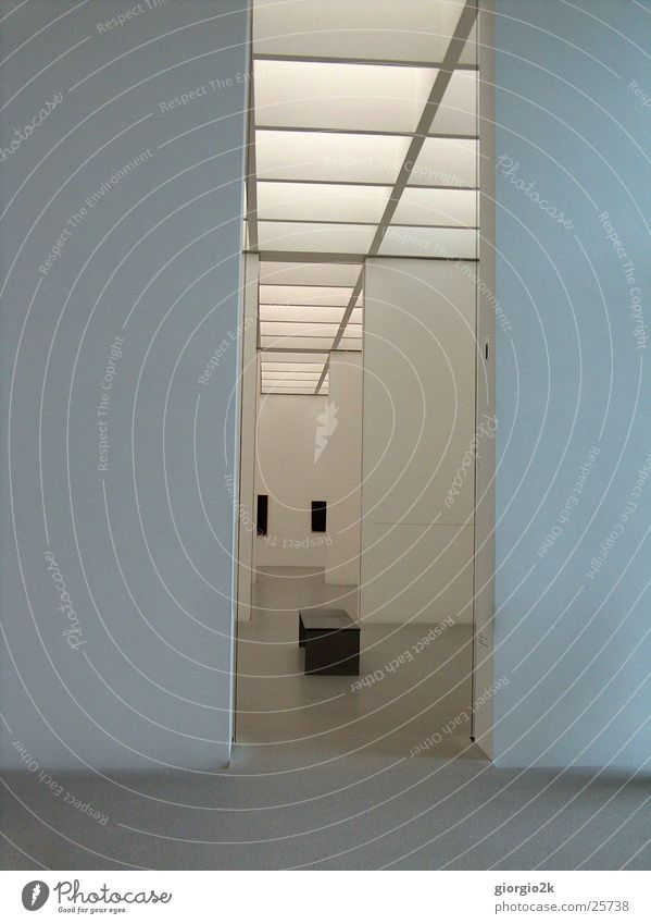 White Wall (building) Style Room Art Architecture Munich Exhibition