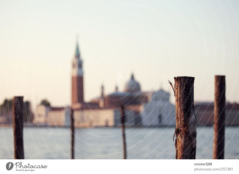 Out of Focus. Art Vacation & Travel San Giorgio Maggiore Venice Veneto Jetty Far-off places Work of art Wanderlust Island Port City Town Cultural center