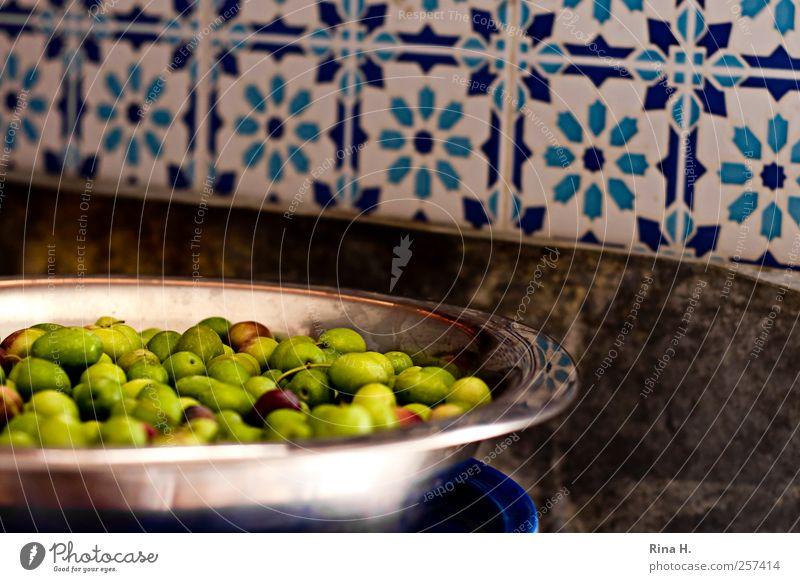 Green Food Bright Authentic Crockery Bowl Mediterranean Vegetarian diet Olive