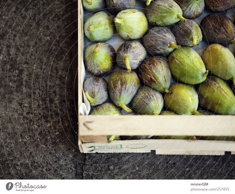 Cowardly? Art Esthetic Fig Many Healthy Markets Market day Crate Offer Mediterranean Culinary Delicious Appetite Mature Green Ground Exotic Food Ecological
