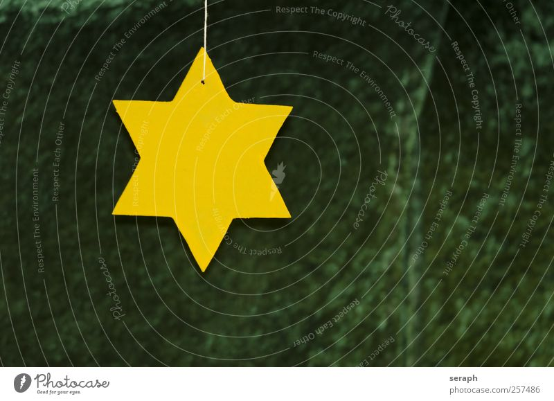 Star Star (Symbol) shaped wood Yellow Surface Product Material Outline Illustration striking Christmas & Advent Symbols and metaphors Pictogram Silhouette