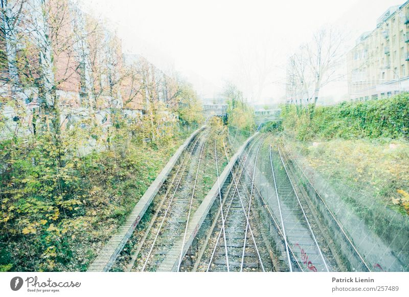 City Lanes & trails Transport Hamburg Mysterious Railroad tracks Underground Traffic infrastructure Chaos Alcohol-fueled Muddled Passenger traffic Means of transport Train travel Public transit