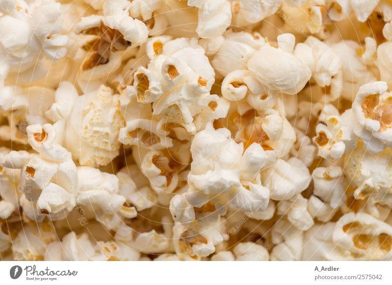 PopCorn Food Eating To enjoy Brown Yellow Gold Orange White Popcorn Colour photo Studio shot Close-up Detail Macro (Extreme close-up)
