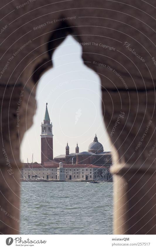 1,111 Perspectives Art Esthetic Venice Veneto San Giorgio Maggiore Arch Tower Island Mediterranean sea Wanderlust Ocean Italy Archway Fantastic