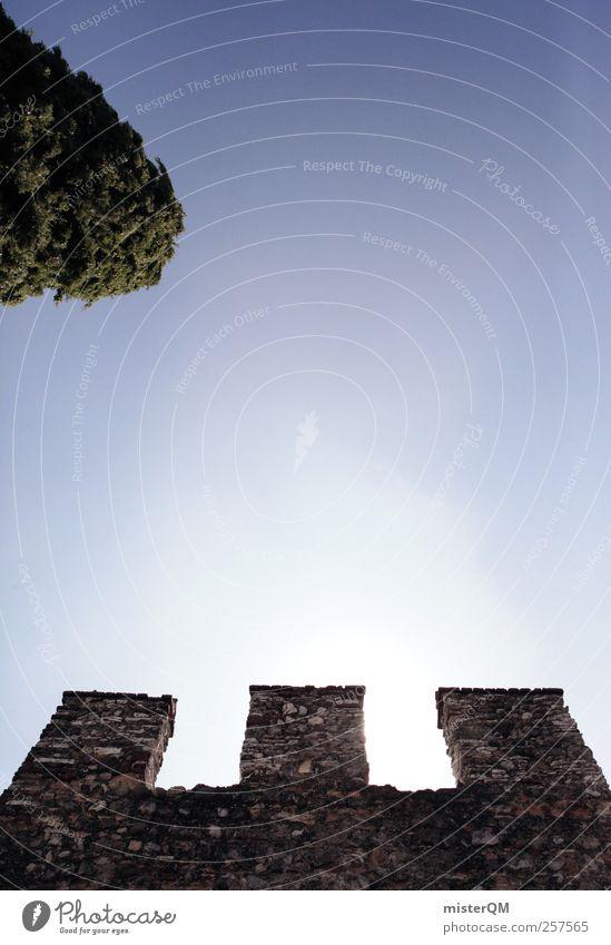 My Home Is My Castle. Art Esthetic Fairy tale Fairytale castle Castle tower Castle wall Castle ruin Imperial Castle Garden Wall (barrier) Merlon Defensive