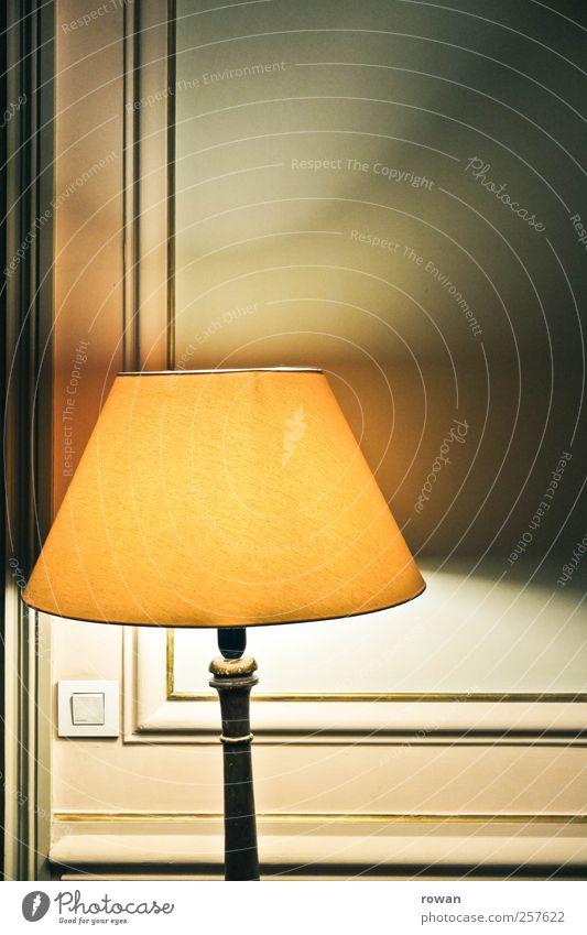 mood lighting Living or residing Flat (apartment) Arrange Interior design Decoration Furniture Lamp Old Elegant Retro Warmth Switch Stucco Yellow Brown Ancient
