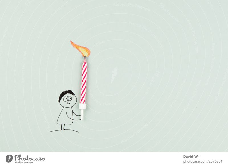Happy Birthday Elegant Human being Masculine Feminine Child Woman Adults Man Youth (Young adults) Life 1 Art Smiling Gift Candle Surprise Friendliness Drawing
