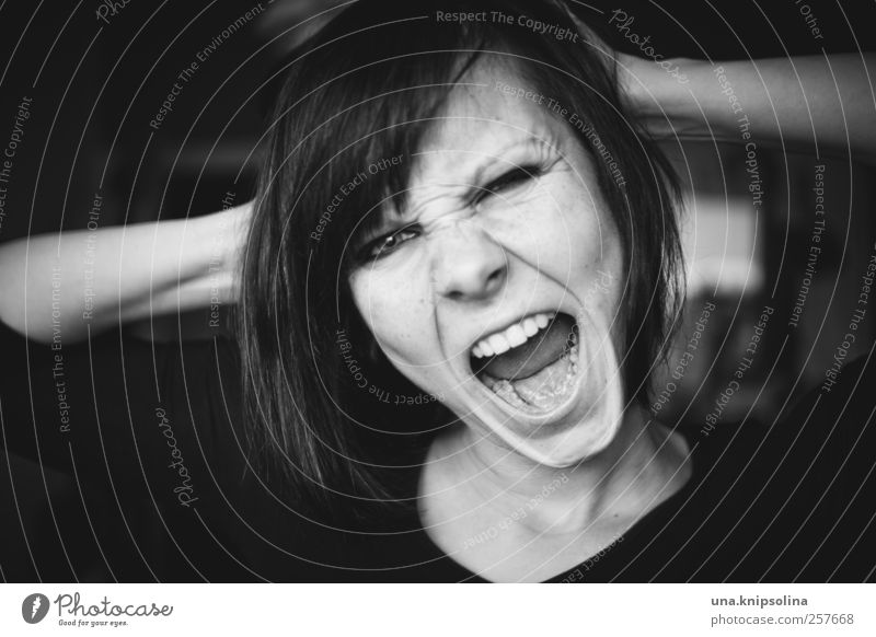 Woman Human being Youth (Young adults) Adults Face Feminine To talk Emotions Wild Threat Communicate 18 - 30 years Anger Strong Scream Argument