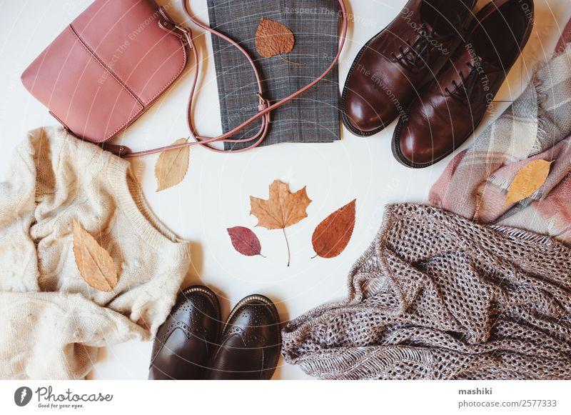 set of seasonal autumn fashion woman clothes Shopping Luxury Style Winter Feminine Woman Adults Autumn Fashion Clothing Sweater Accessory Footwear Boots