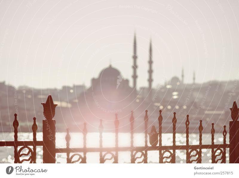 Ocean Warmth Skyline Tourist Attraction Turkey Istanbul Mosque The Bosphorus New Mosque