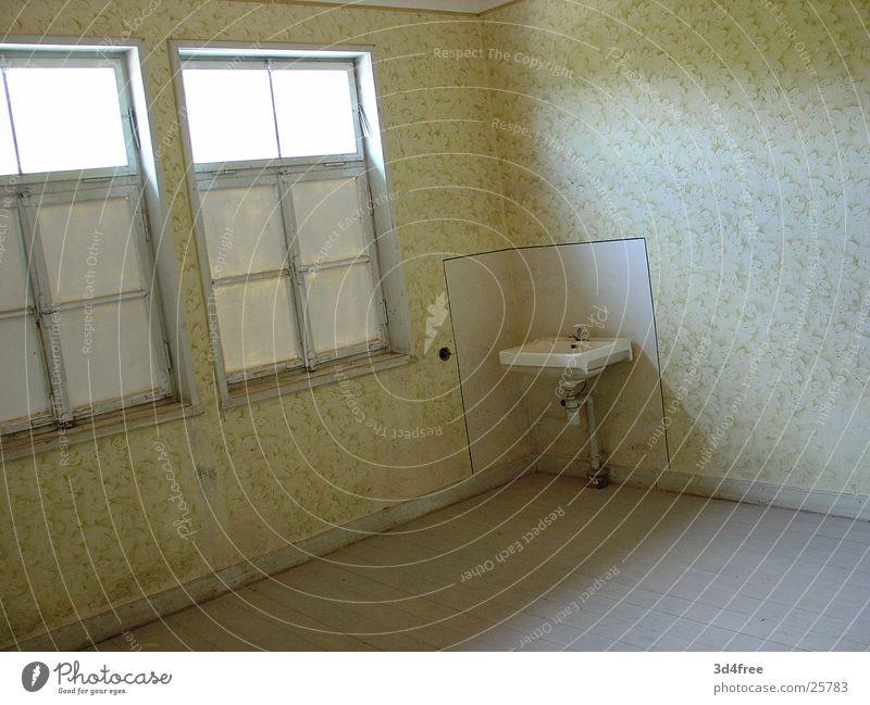 Old Cold Room Empty Corner Derelict Historic Sink Concentration camp Natzweiler