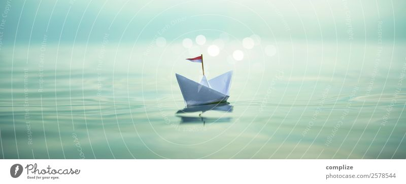 Sail away | Paper Boat Panorama Healthy Alternative medicine Wellness Life Harmonious Well-being Relaxation Handicraft Vacation & Travel Freedom Summer
