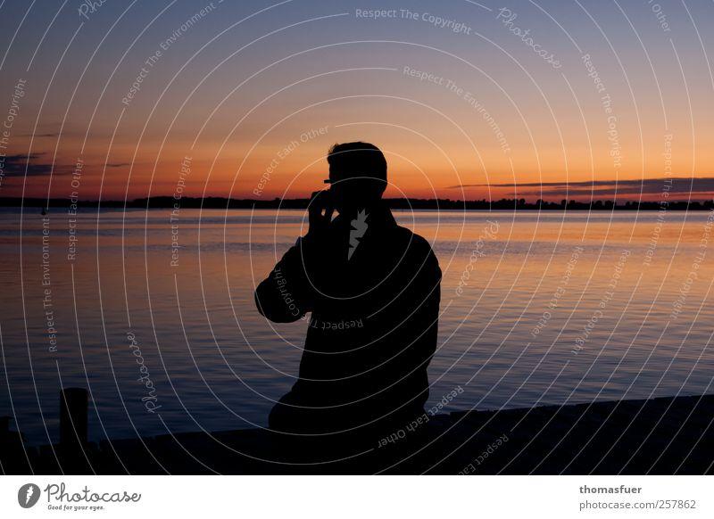 Human being Sky Man Ocean Summer Beach Adults Far-off places Coast Happy Horizon Waves Island Eyeglasses Romance Communicate