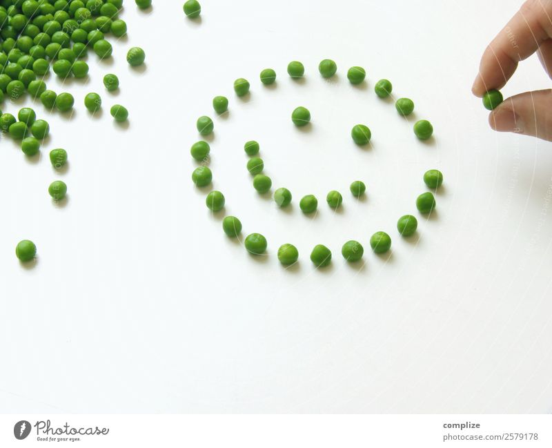 Peas Smiley Vegetable Nutrition Eating Lunch Organic produce Vegetarian diet Diet Joy Face Playing Hand Many Optimism Things Dish Motive Healthy Eating Green