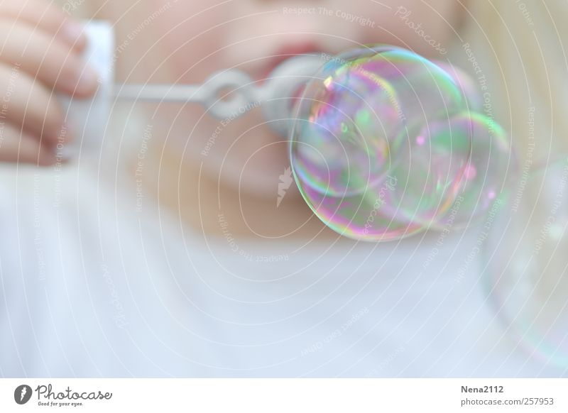 Human being Child White Girl Joy Playing Infancy Leisure and hobbies Birthday Fingers Round Toddler Joie de vivre (Vitality) Blow Soap bubble 3 - 8 years