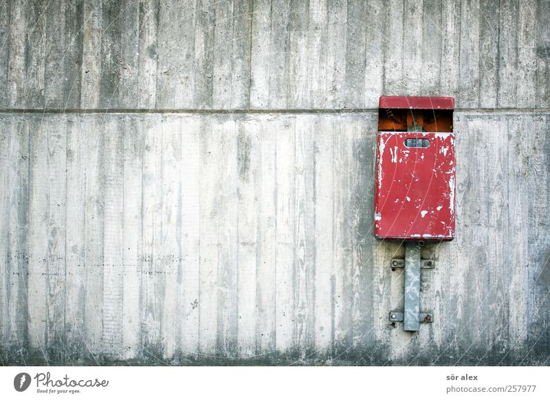 City Red Wall (building) Gray Wall (barrier) Building Metal Facade Concrete City life Clean Trash Manmade structures Downtown Environmental protection