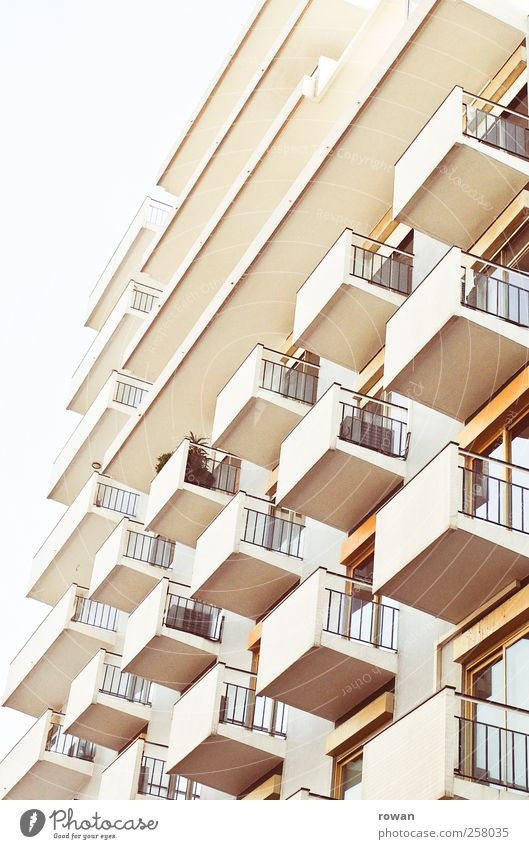 Facade 1 House (Residential Structure) High-rise Manmade structures Building Architecture Wall (barrier) Wall (building) Balcony Terrace Uniqueness