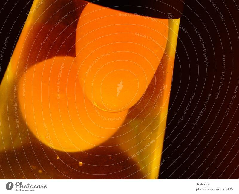 Yellow Lamp Warmth Orange Physics Sixties Lava Wax Lava lamp