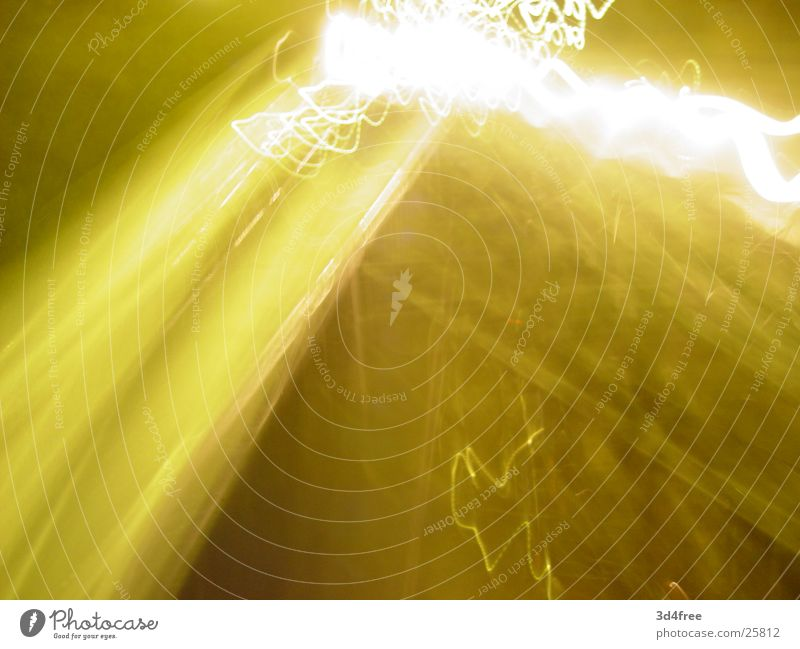 yellow.fl@sh Yellow Lightning Long exposure Lantern Night