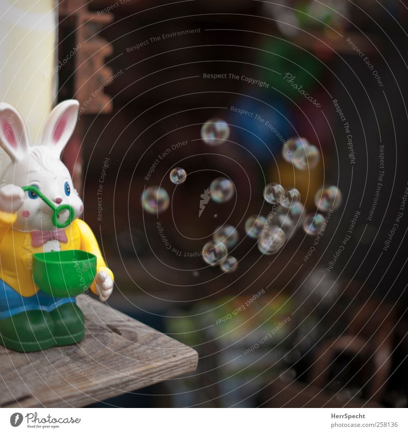 Funny Toys Hare & Rabbit & Bunny Hover Soap bubble Vending machine Toy shop