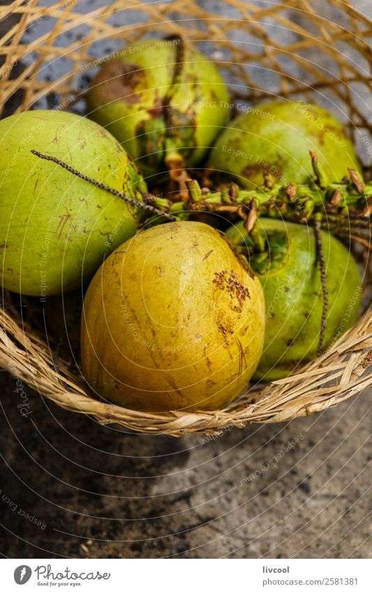 coconuts-dumaguete Fruit Nutrition Organic produce Vegetarian diet Shopping Island Profession Nature Places Stand Vacation & Travel food Basket Story paviment