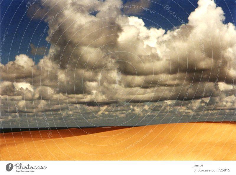Beach Clouds Europe Beach dune Portugal Storm clouds Sandy beach Algarve