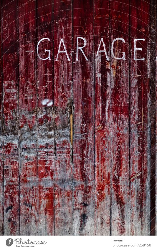 garage Manmade structures Wall (barrier) Wall (building) Door Environmental pollution Town Decline Past Transience Change Garage Garage door Gate Dye Flake off