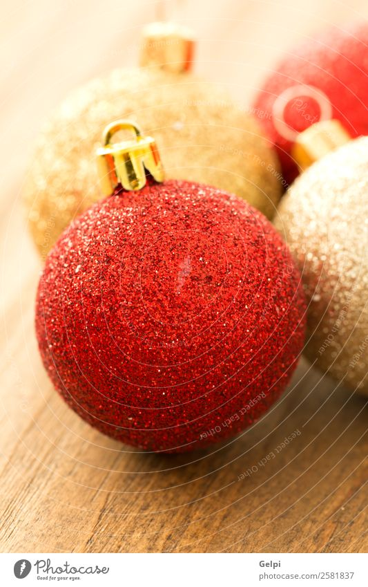 Christmas decoration Happy Beautiful Vacation & Travel Winter Decoration Feasts & Celebrations Christmas & Advent Wood Ornament Bright Small New Gold Red Colour
