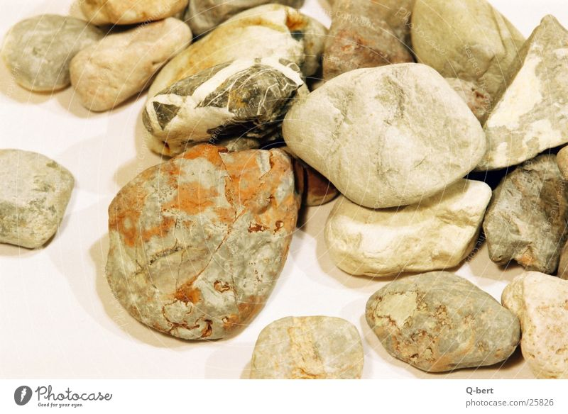the stones Pebble Surface Nature Detail Stone ornamental stones Colour Structures and shapes