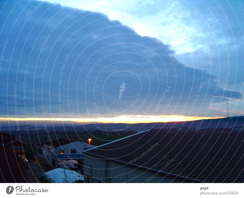 sunrise Sunrise Clouds Sunbeam Sky Morning