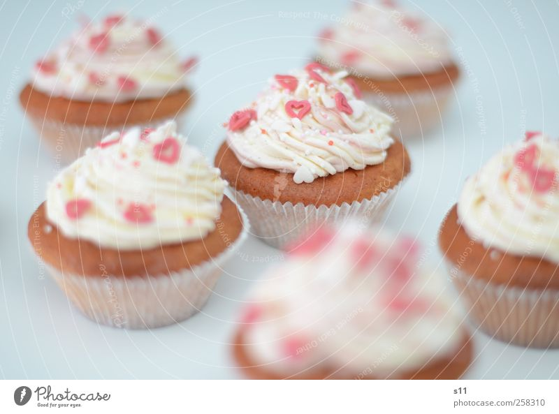 White Beautiful Red Joy Food Feasts & Celebrations Pink Heart Birthday Decoration Sweet Cooking & Baking To enjoy Cake Candy Delicious