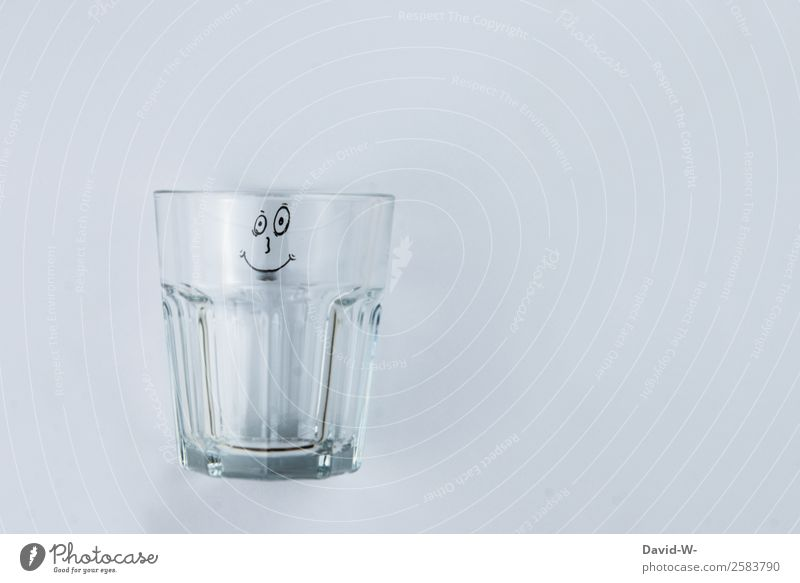 Face Lifestyle Funny Style Art Exceptional Design Elegant Infancy Smiling Glass Creativity Empty Drinking water Observe Friendliness