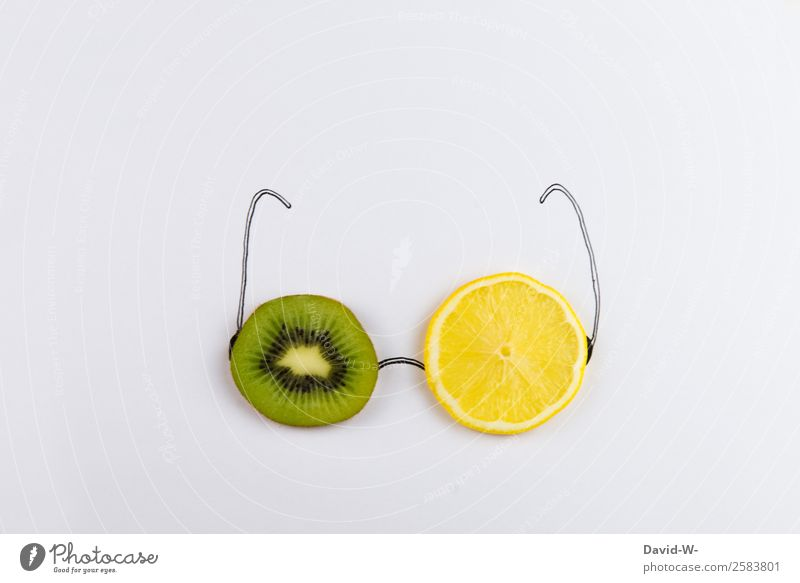 Glasses with a difference Food Fruit Organic produce Vegetarian diet Diet Style Design Exotic Joy Healthy Medical treatment Alternative medicine Healthy Eating