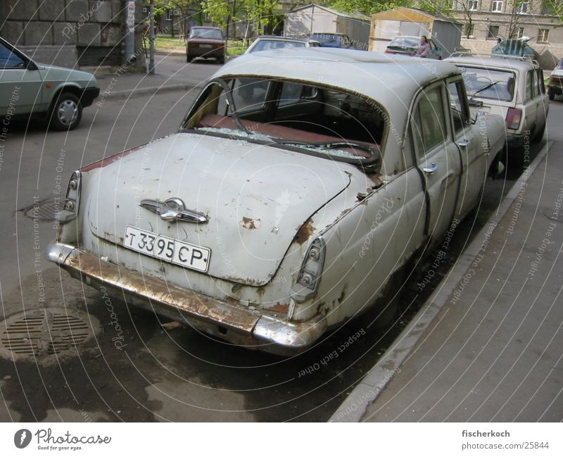 Volga/St.Petersburg Newa Sidestreet Historic Car Granulate Past Cool (slang)