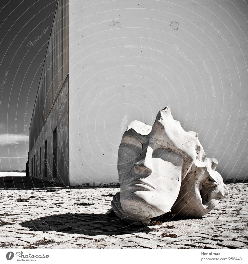 Broken spirit. Summer Artist Museum Work of art Sculpture Manmade structures Building Architecture Wall (barrier) Wall (building) Facade Tourist Attraction