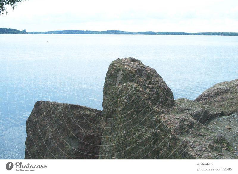 Water Stone Lake Coast