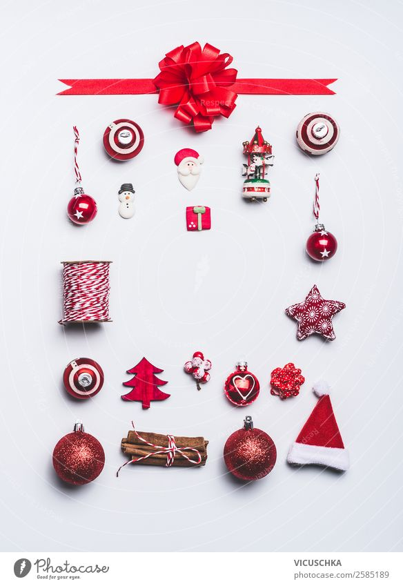 Christmas & Advent Red Winter Background picture Style Feasts & Celebrations Party Design Decoration Gift Shopping Tradition Collection Event Christmas tree
