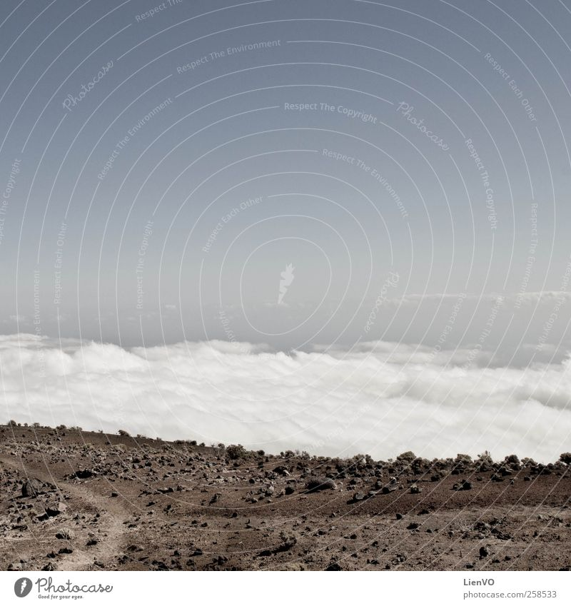 ruta de los Vulcanos Sky Blue Clouds Calm Far-off places Landscape Mountain Sand Stone Dream Brown Horizon Earth Trip Free Discover