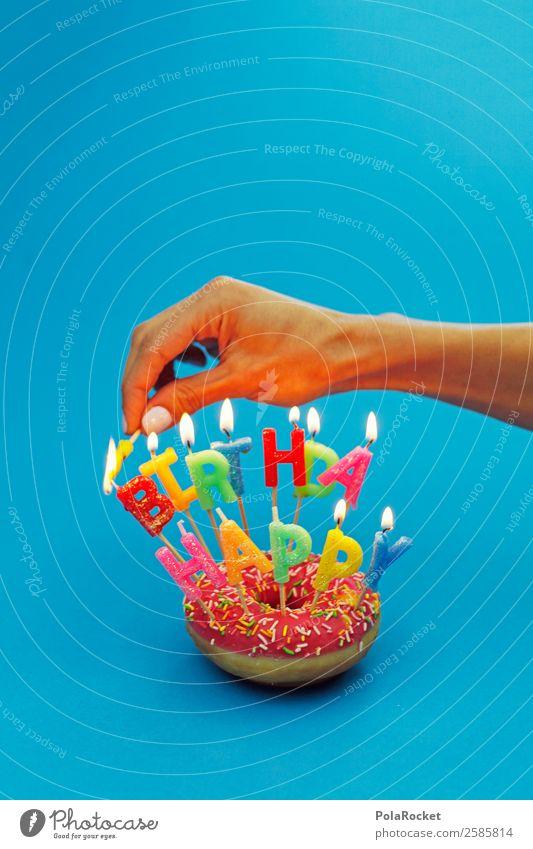 #A# Birthday Preparations Art Esthetic Birthday cake Birthday gift Birthday wish Candle Ignite Hand Jubilee Colour photo Multicoloured Interior shot Studio shot