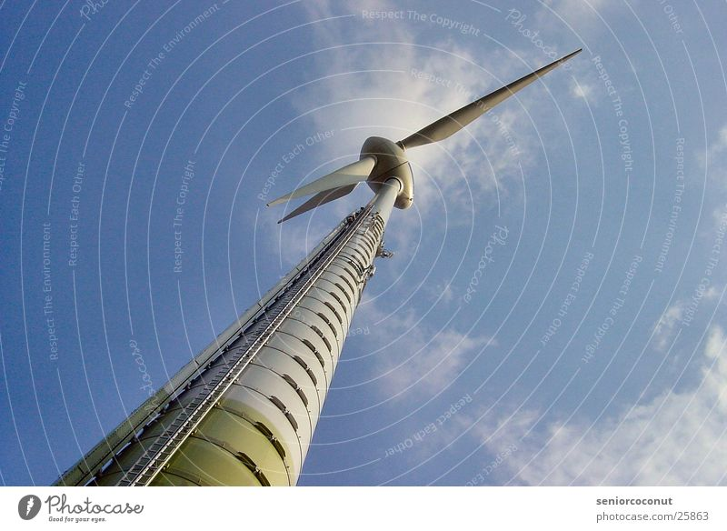 energy 2 Wind energy plant Clouds Electrical equipment Technology Weather Sky