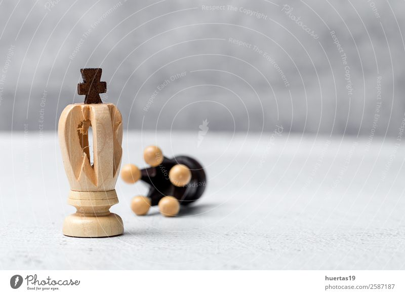 Game and chess pieces Sports Art Playing Horse Intellect Horizontal Competition King Chess Chessboard Battle
