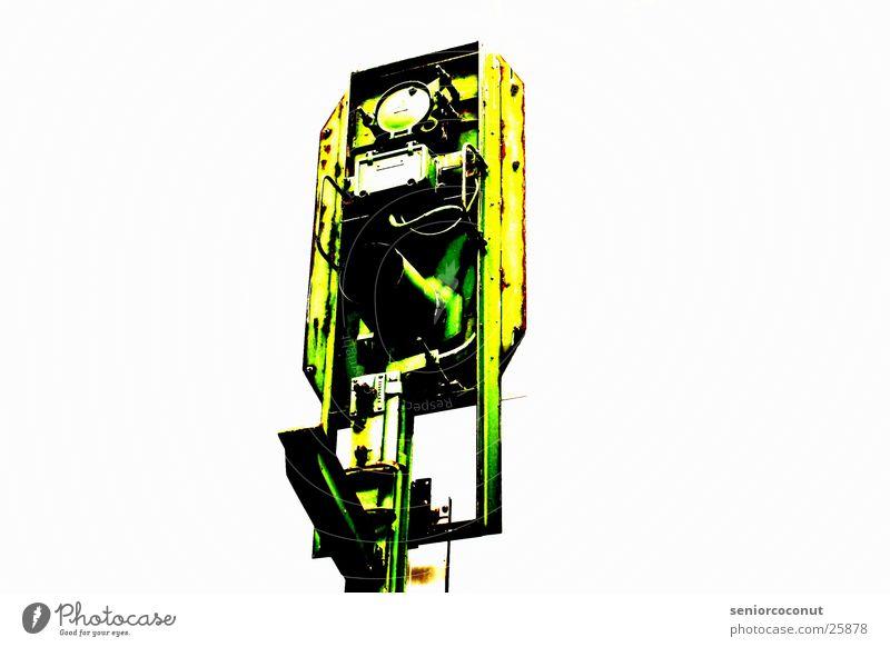 beacon Green Photographic technology Signal Railroad Metal