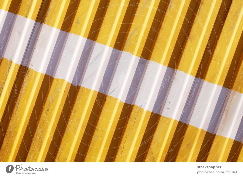 White Stripe Old White Yellow Wall (barrier) Metal Line Background picture Stripe Container Horizontal Painted Grunge Consistency Cargo Corrugated sheet iron Worn out