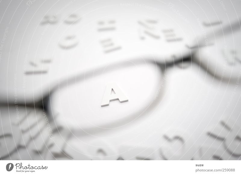 Sharp A Lifestyle Style Design Eyeglasses Characters Esthetic Simple Bright White Chaos Idea Inspiration Creativity Letters (alphabet) Clarity Considerable