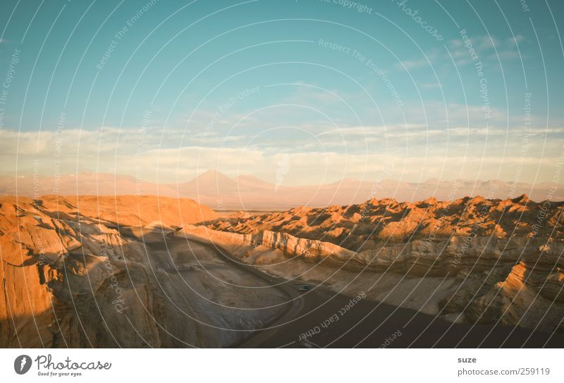Sky Nature Blue Summer Environment Street Landscape Mountain Warmth Lanes & trails Sand Air Horizon Earth Weather Rock