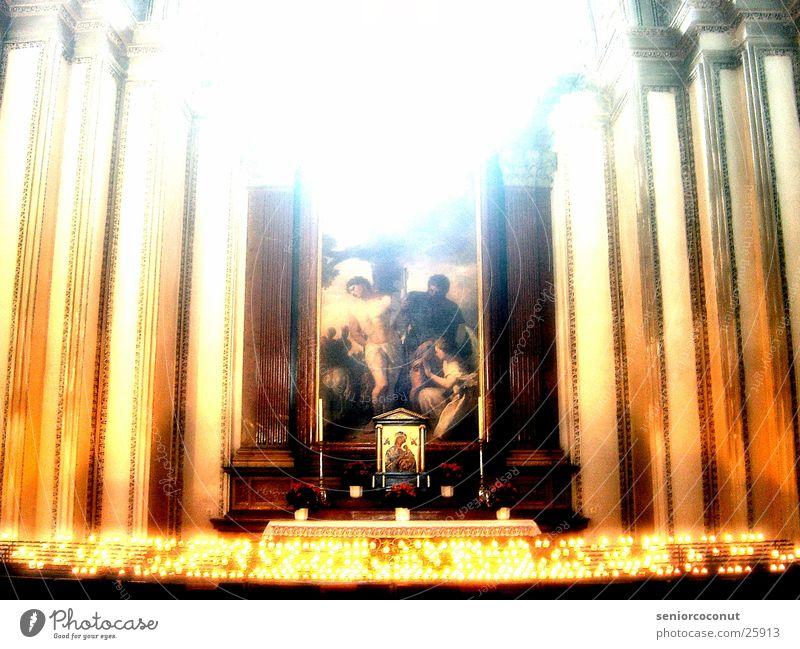 altar Religion and faith Tea warmer candle Historic Light Dome Column Splendour. Architecture