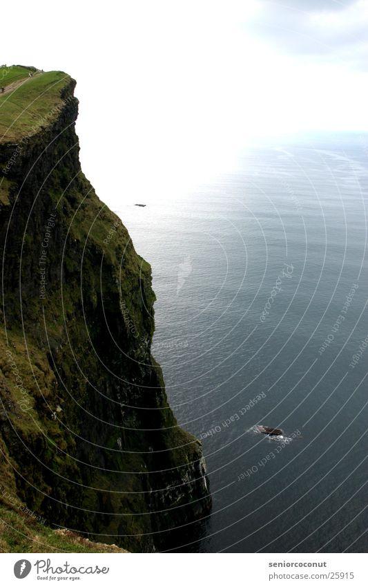 Water Sun Ocean Stone Coast Rock Tall Europe Surf Ireland