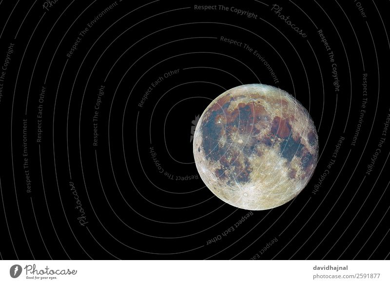 The colours of the moon Technology Science & Research Advancement Future High-tech Astronautics Astronomy Environment Nature Landscape Elements Sky Sky only